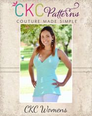 Catarina Women's Crossover Tank Crop and Top PDF Pattern