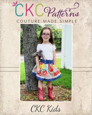 Bentlee's Button-Up Skirt PDF Pattern