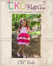 Isadora's Open Back Dress-up Top and Dress PDF Pattern