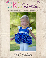 Isadora's Baby Open Back Dress-up Top and Dress PDF Pattern