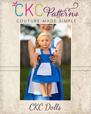 Isadora's Doll Open Back Dress-up Top and Dress PDF Pattern