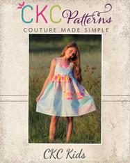 Lilou's Tiered Dress PDF Pattern