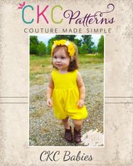 Hiley's Baby Romper PDF Pattern