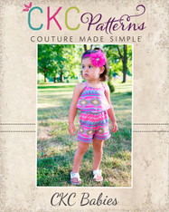 Remi's Babies Swag Romper, Dress, and Maxi PDF Pattern
