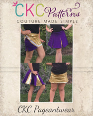 Spirit's Parade and Cheer Skirts PDF Pattern