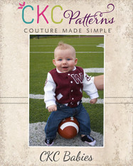 Brock's Baby Letterman Jacket PDF Pattern
