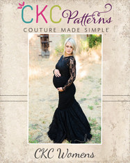 Faryn's Women's & Maternity Gown, Dress, and Skirt PDF Pattern