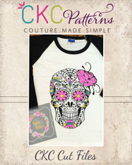 Sugar Skulls Cut File