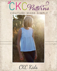 Livy's Pleated Top PDF Pattern