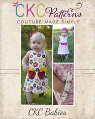 Jillian's Baby A-Line Snap Dress PDF Pattern