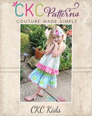 Lindsey's Sweet Twirly Skirt PDF Pattern