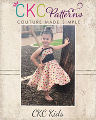Lennon's Colorblock Dress PDF Pattern