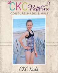 Ohanna's Open Back Leotard PDF Pattern