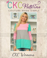 Roe's Women's Classic & Flared Tee, Tunic & Dress PDF Pattern