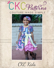 Ellie's Scalloped Party Dress PDF Pattern