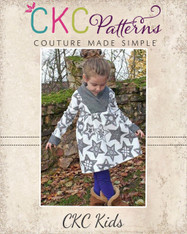 Fern's Fleece Scarf Collar Pullover PDF Pattern