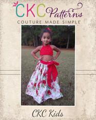 Faelynn's Floor Length Skirt PDF Pattern