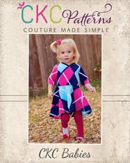 Mattia's Baby Asymmetrical Circle Dress and Tunic  PDF Pattern