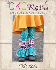 Taelyn's Tiered Leggings  PDF Pattern