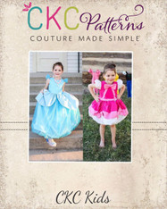 Wilhelmina's Transformation Dress PDF Pattern