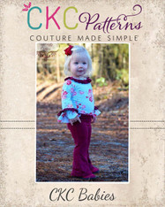 Marsha's Baby Flared Pants and Capris PDF Pattern