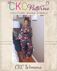 Colbie's Adult Cozy Footed Jammies PDF Pattern