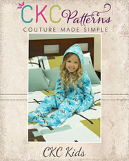 Colbie's Kid's Cozy Footed Jammies PDF Pattern