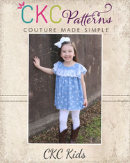 Trixie's Flutter Ruffle Dress and Tunic PDF Pattern