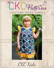 Moxie's Flutter Dress PDF Pattern