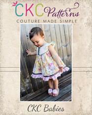 Moxie's Baby Flutter Dress PDF Pattern