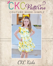 Alexis' Bubble Dress and Top with Pleats PDF Pattern