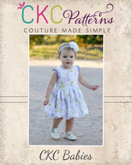 Alexis' Baby Bubble Dress and Top with Pleats PDF Pattern