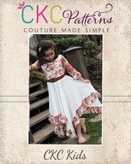 Starlyn's Ruffled Dress PDF Pattern