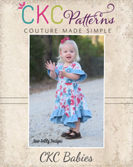 Starlyn's Babies Ruffled Dress PDF Pattern