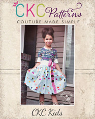 Jiacinta's Joyous Dress PDF Pattern
