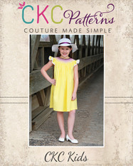Sue Ellen's Smocked Bishop Top, Dress, and Romper PDF Pattern