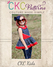 Presley's Pintuck Party Dress PDF Pattern