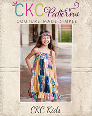 Fawn's Patchwork Dress PDF Pattern
