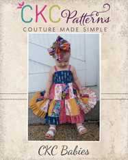 Fawn's Baby Patchwork Dress PDF Pattern