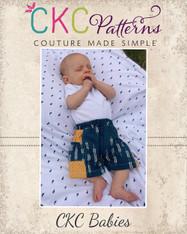 Quade's Baby Bubble-Pocket Shorts PDF Pattern PDF Pattern