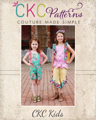 Luana's Little Romper and Top PDF Pattern