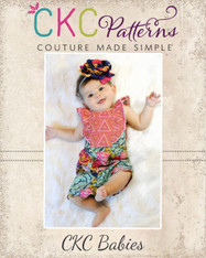 Luana's Baby Little Romper and Top PDF Pattern