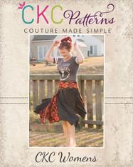 Josephina's Women's Hanky Hem Skirt PDF Pattern
