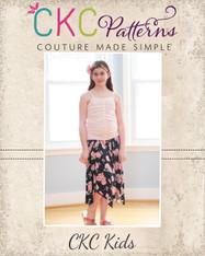 Josephina's Hanky Hem Skirt PDF Pattern