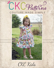 Grayson's Button Front School Girl Dress PDF Pattern