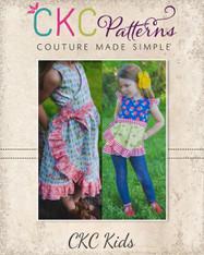 Melanie's Wrap Dress & Top PDF Pattern