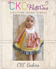 Samara's Baby Stripwork Dress PDF Pattern