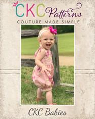 Abigail's Baby Shoulder Tie Romper PDF Pattern
