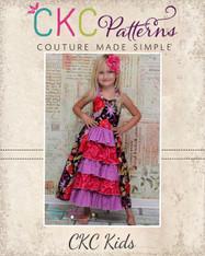 Penelope's Princess Ruffle Dress PDF Pattern