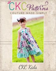 Penny's Patchwork Twirly Dress PDF Pattern